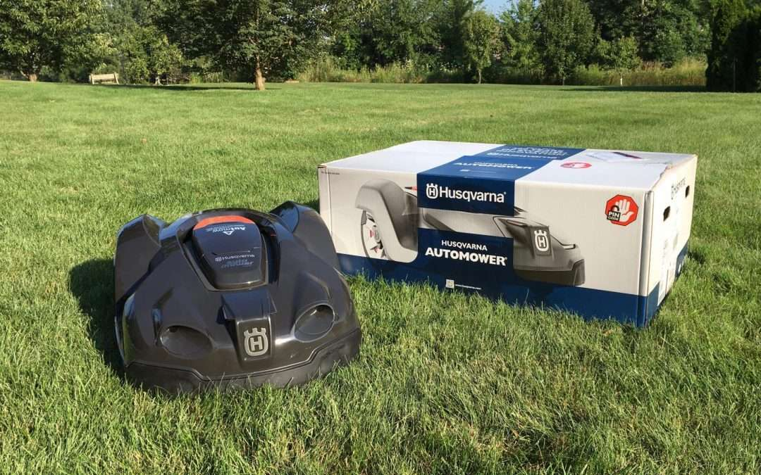 Husqvarna Automower: the iOS controlled mower that cuts your lawn so you don't have to [Video]