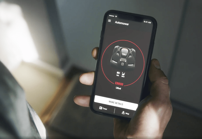 Getting the most out of the Automower® Connect App from Husqvarna